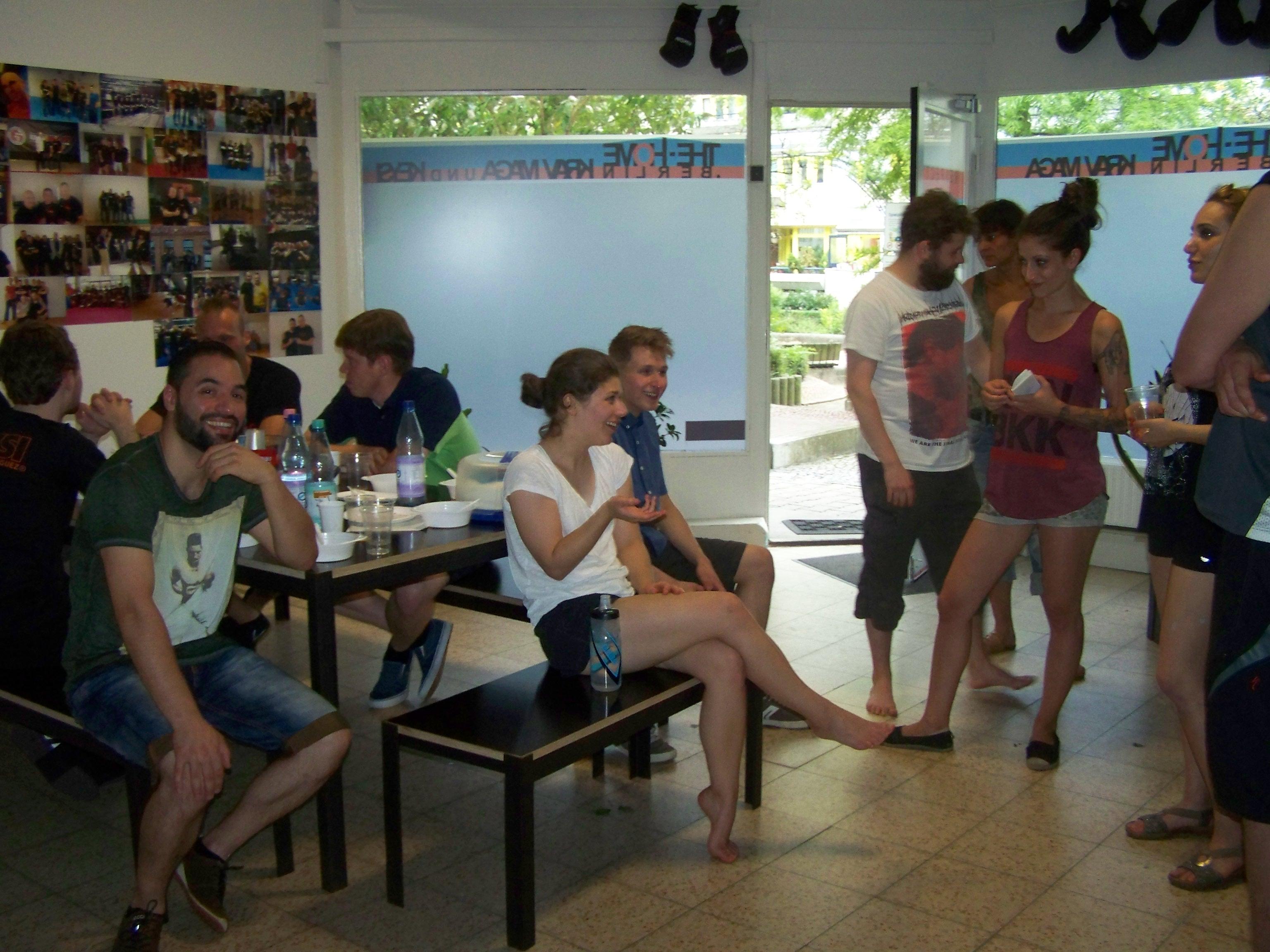 Besuch aus Hamburg-Altona bei den HOMIES - Krav Maga und Keysi