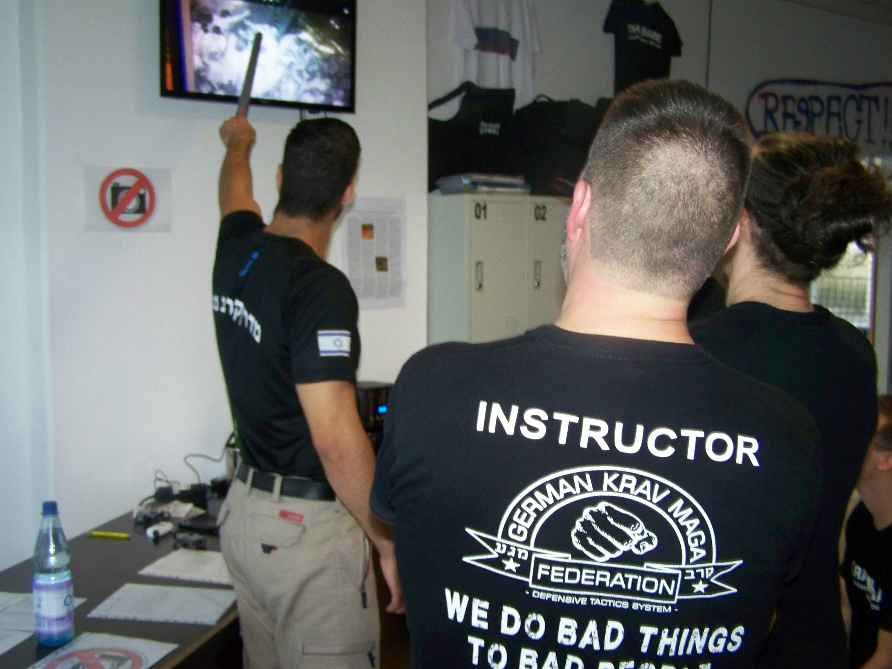 Kfir Itzhaki - instinct integrated israeli combatives