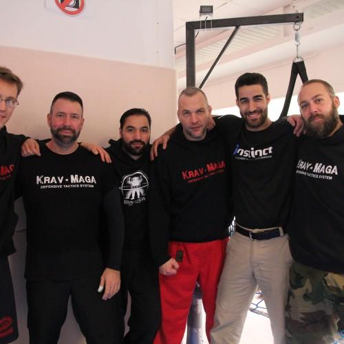 Kfir Itzhaki und die Instructoren der German Krav Maga Federation - Bild von Laura Külper, Katzenfuchs