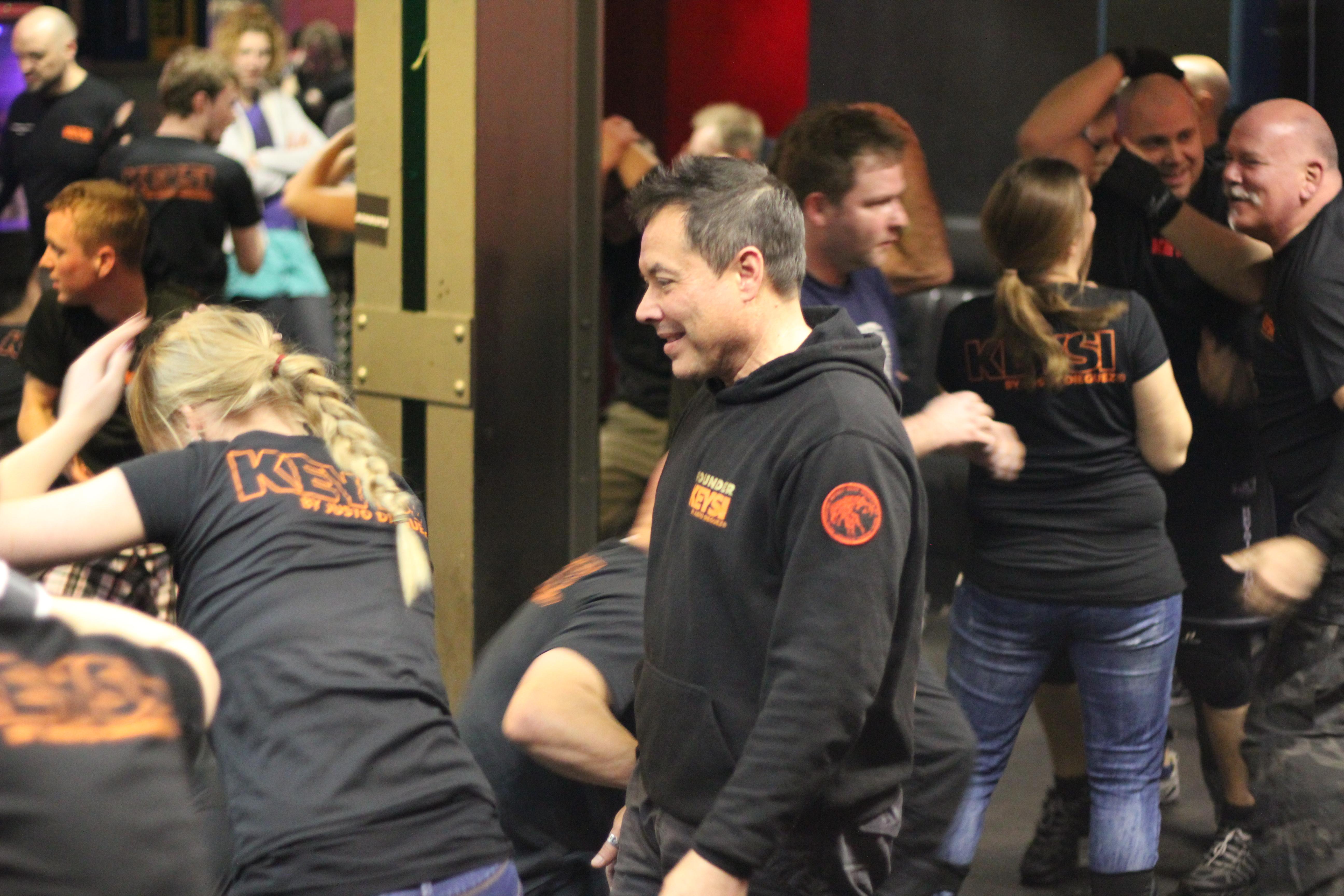 Keysi Clubfight Seminar mit Justo Dieguez - Foto von Laura Külper, Katzenfuchs