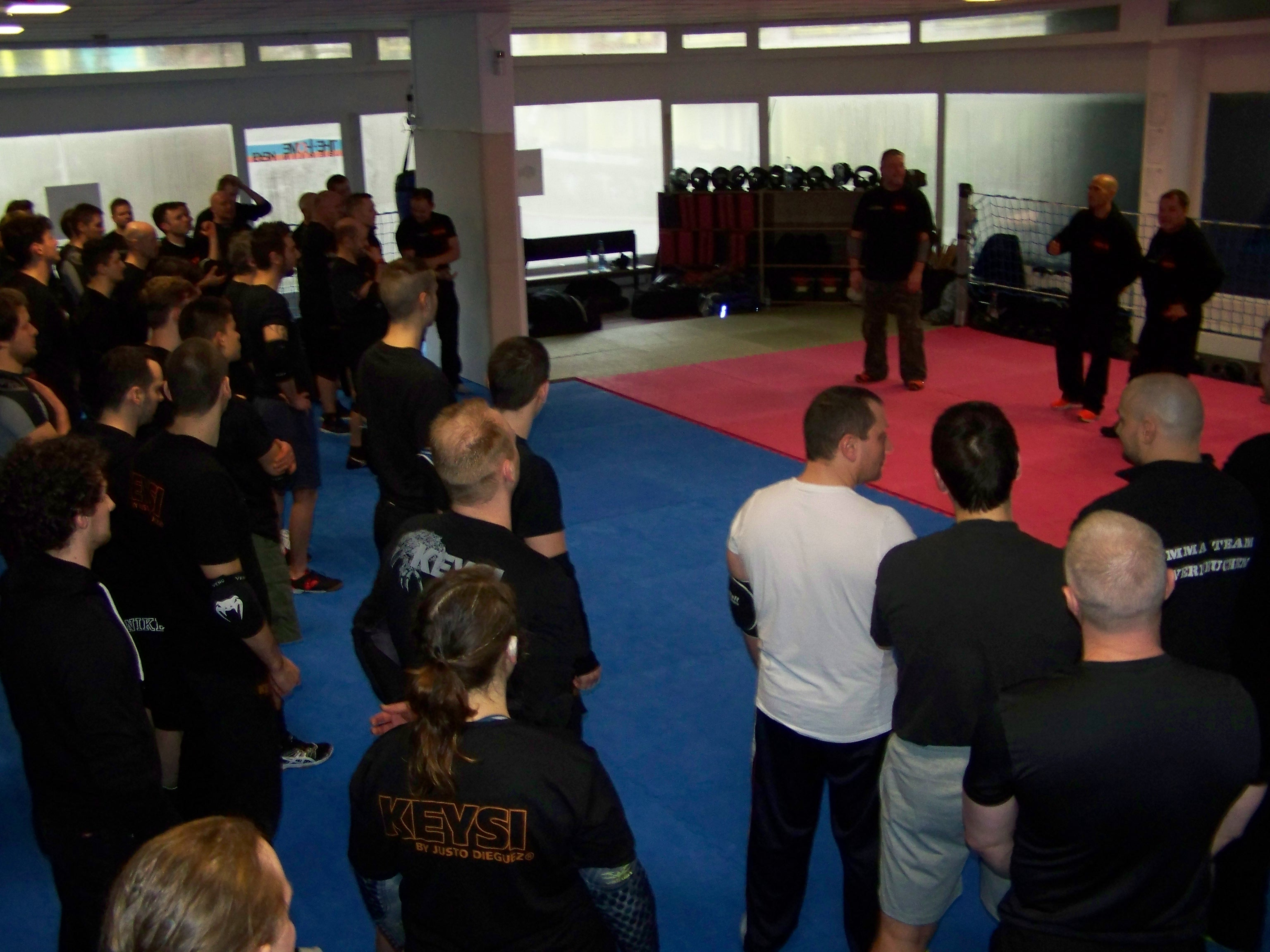 Keysi by Justo Dieguez open seminar am 12.03.2016 - THE-HOME.BERLIN