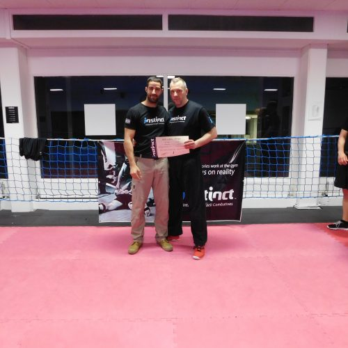 Krav Maga Instructor Benjamin Meyer und Kfir Itzhaki - Instinct Integrated Israeli Combatives