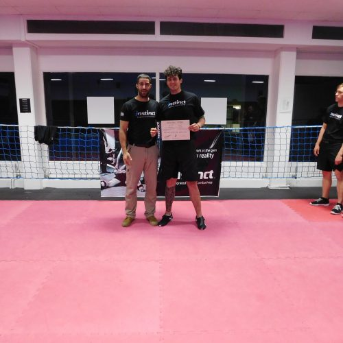 Krav Maga Instructor Martin Klingner und Kfir Itzhaki - Instinct Integrated Israeli Combatives